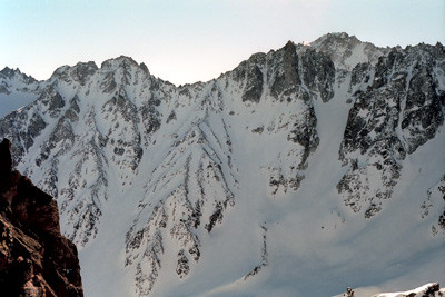 Couloir Nord Aiguille d'Orny
