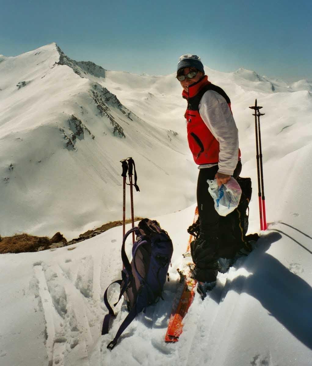 Catherine au mont Pellat