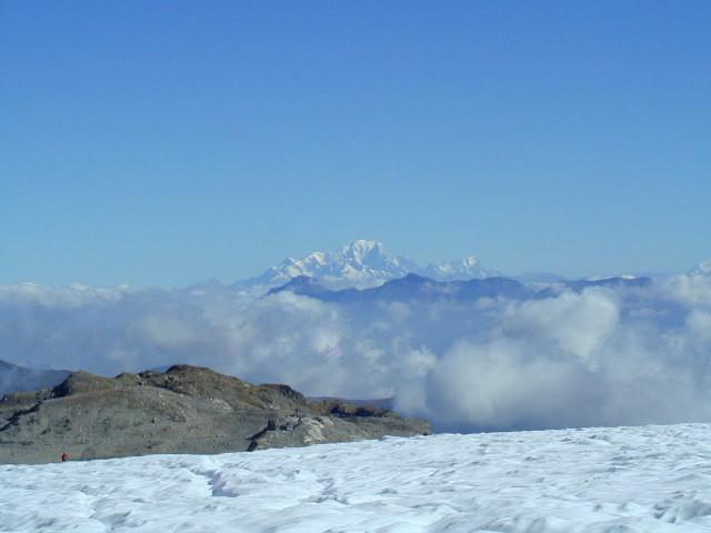 Mont-Blanc depuis le glacier de St-Sorlin