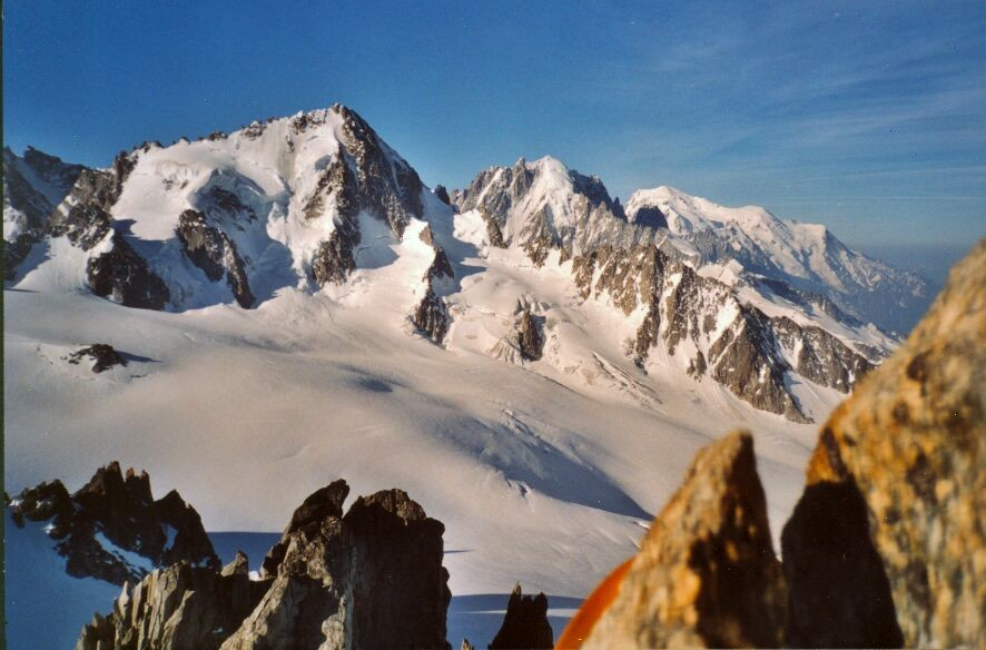 Aiguille du Tour : belle vue sur le massif