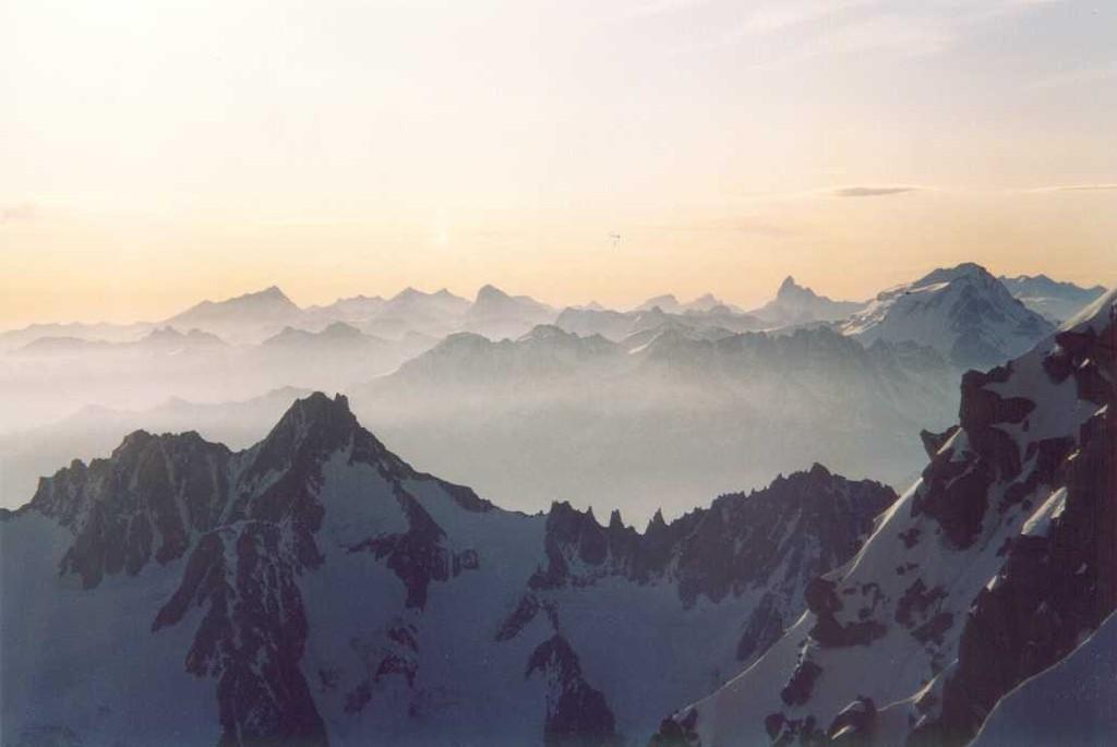 le Valais au petit matin