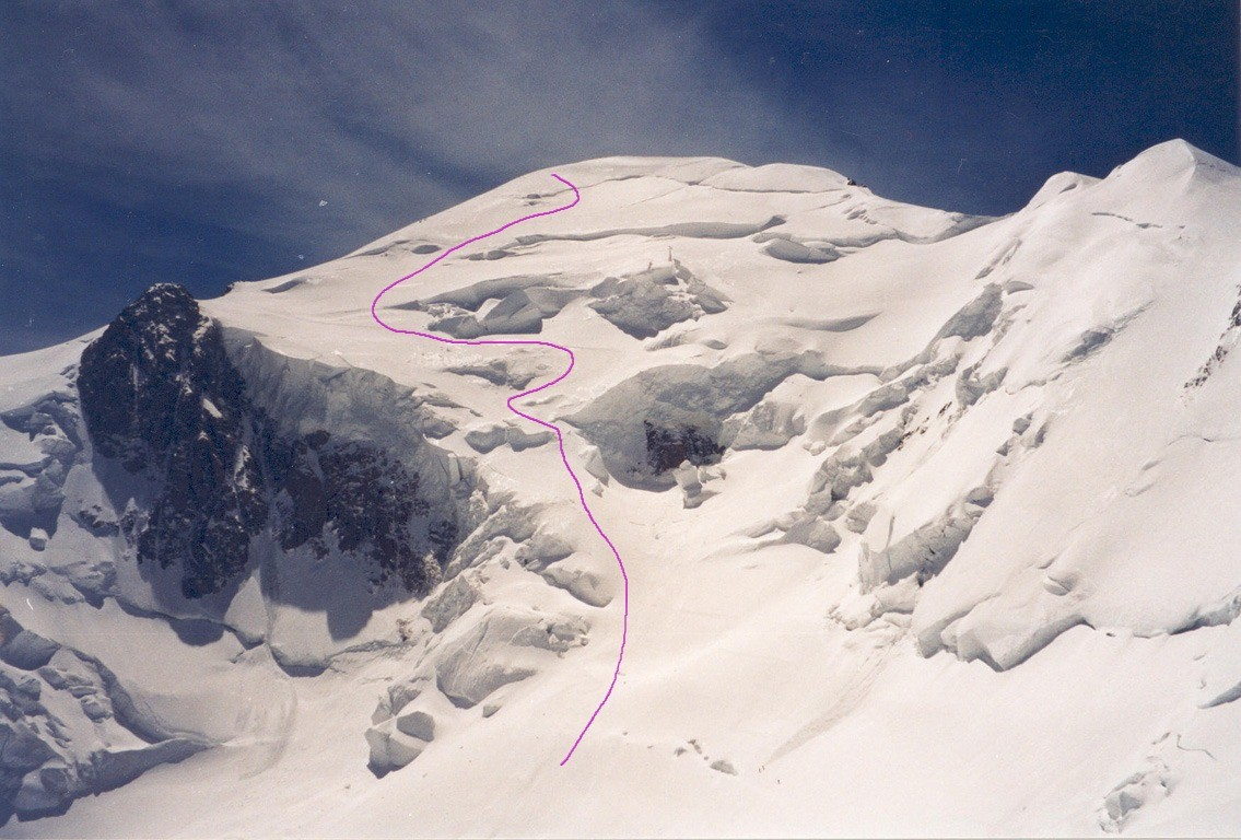 Mont Blanc, Face N