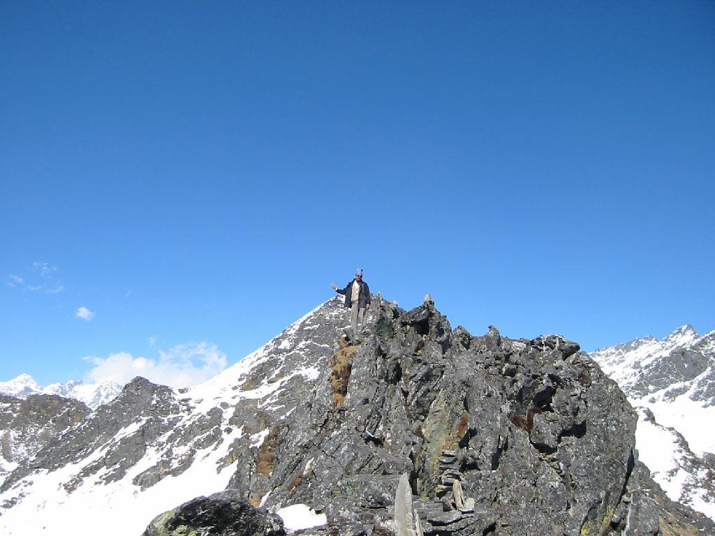 Anté-cime du Surya Peak