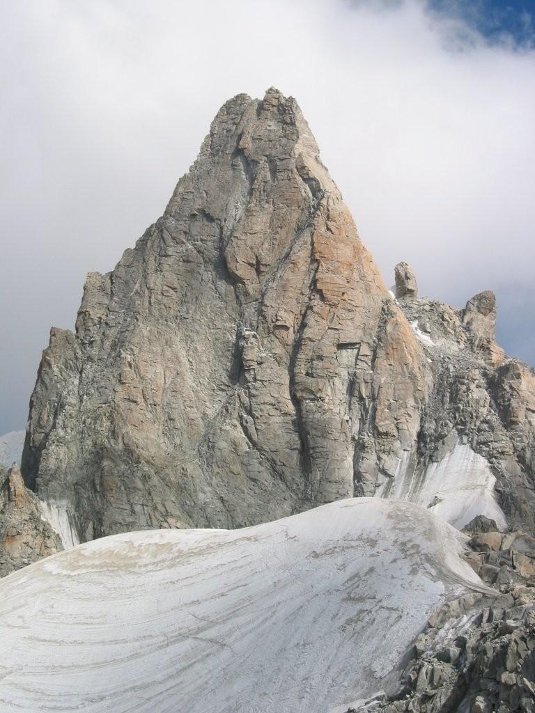 Dent du géant - face Nord