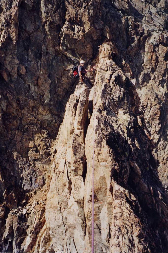 pilier Candeau au sommet Ouest du Râteau