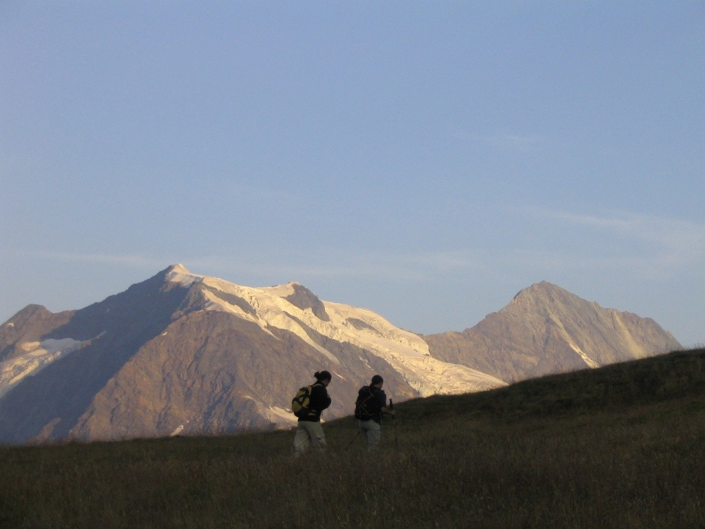 Le Dôme de la Sache et le Mont Pourri