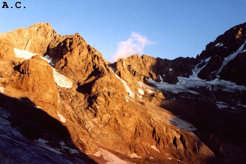 Col du Sélé - Lever de soleil sur la Pointe du Sélé