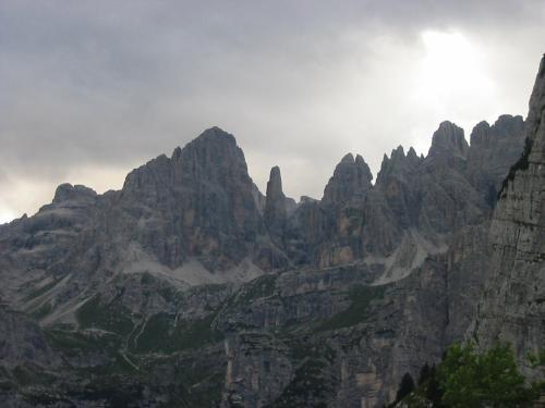 Dal Croz vista sul Brenta