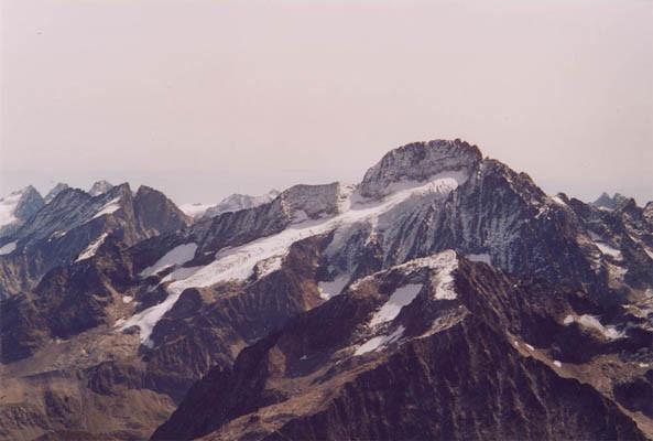 la Roche de la Muzelle et son glacier