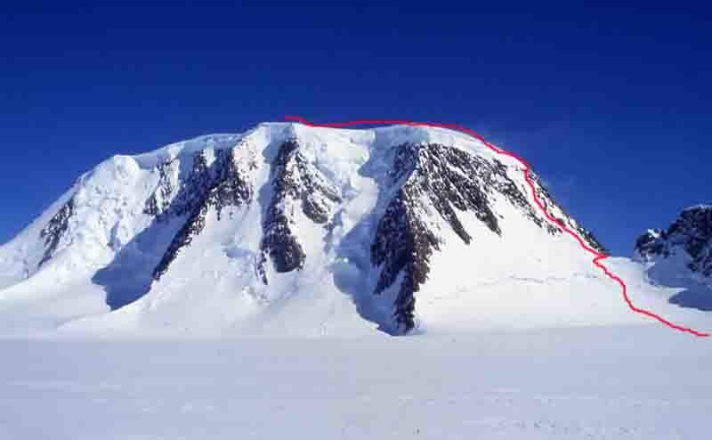 Itinéraire de montée au mont Forel