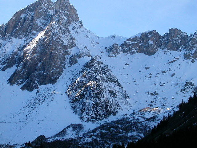 Col des Chasseurs et sa Combe Nord