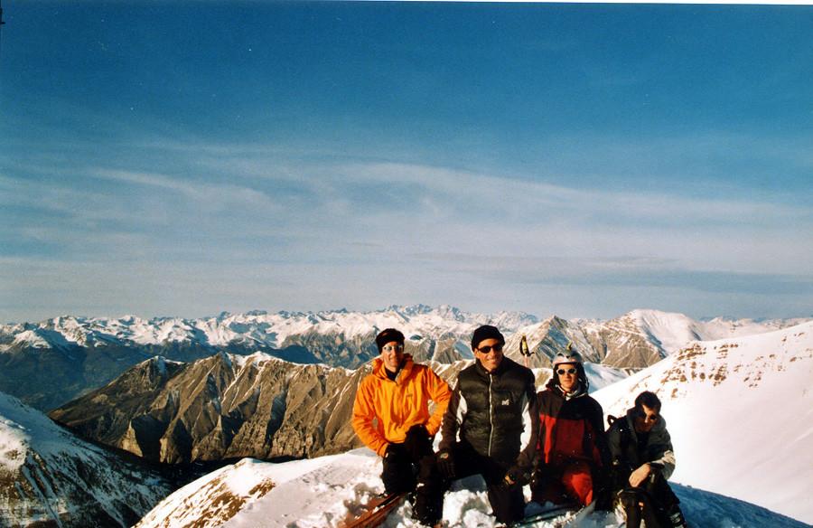 La photo souvenir du sommet