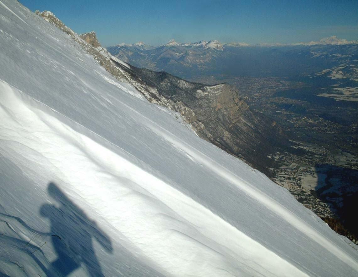Rang des agnelons - Vue sur Grenoble