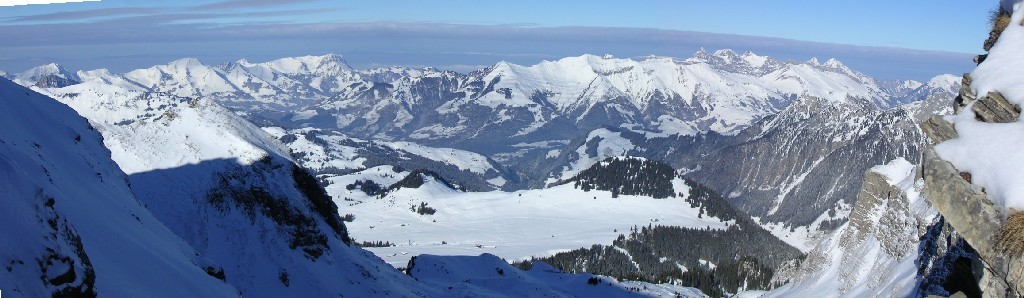 Panorama Alpes Fribourgeoises