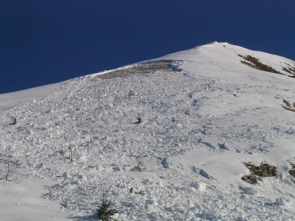 Vanlaghe sulla salita al Monte Avert