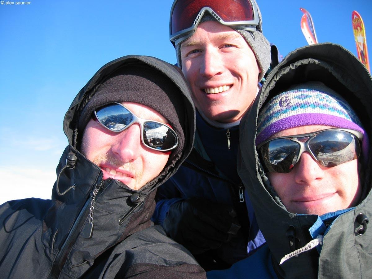Alex, Marc et Manu