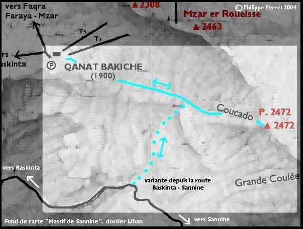 carte itineraire COUCADO