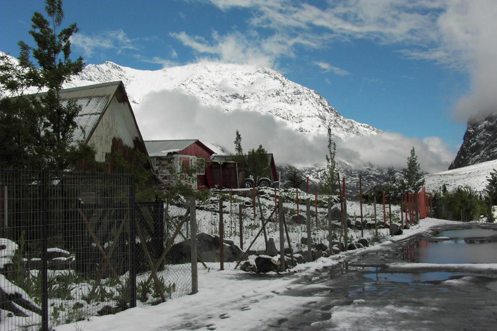 Baños Morales 1900m-Chili