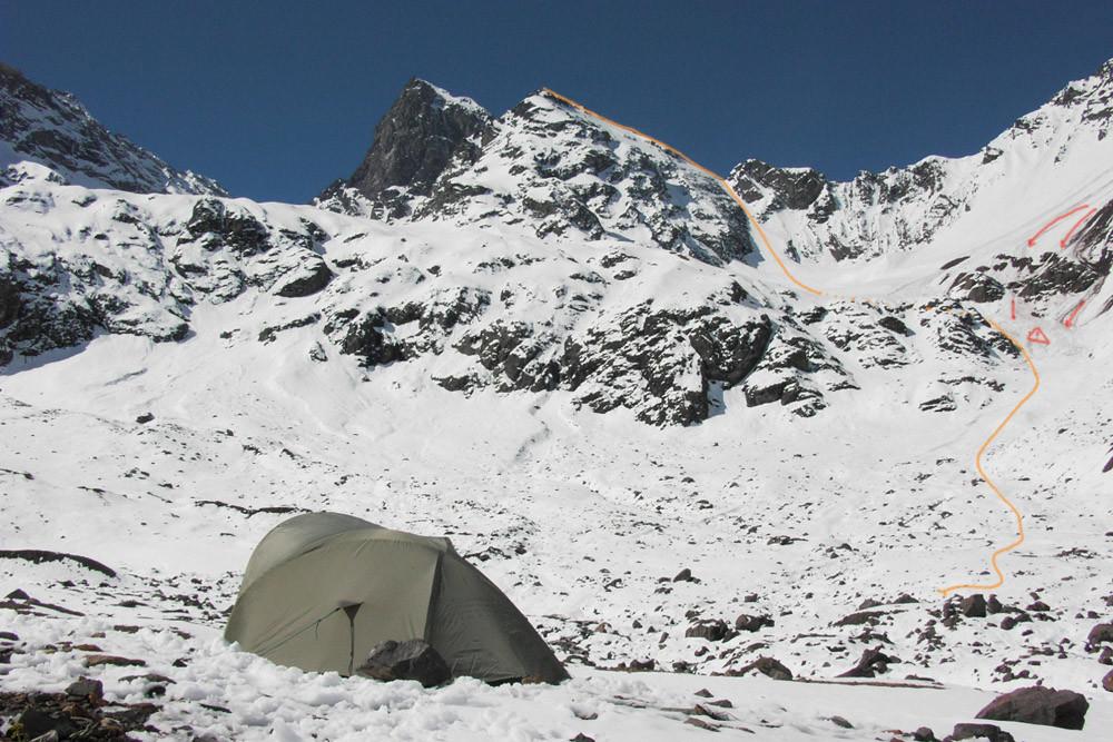 Cerro Mirador del Morado-itinéraire