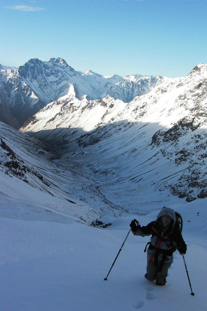 Cerro Mirador del Morado-approche