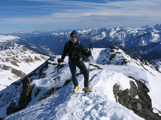 In vetta al Monte Redival