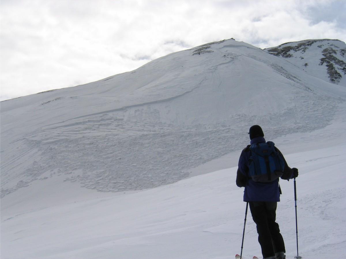 avalanche à Cretta de Vella