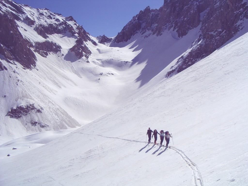 Col de l'Enchiausa - nord