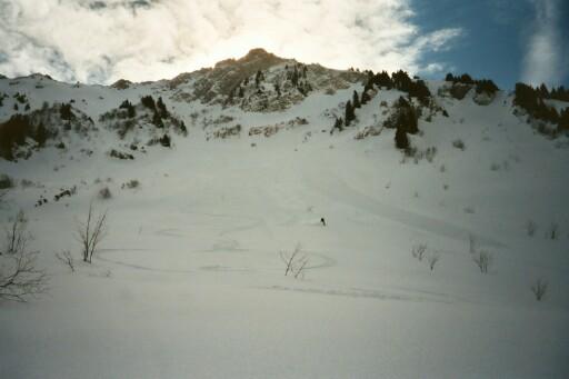 Grand Parra - versant NW