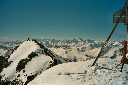vue du sommet du Brequin