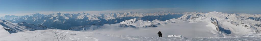 Panorama S du Wildstrubel