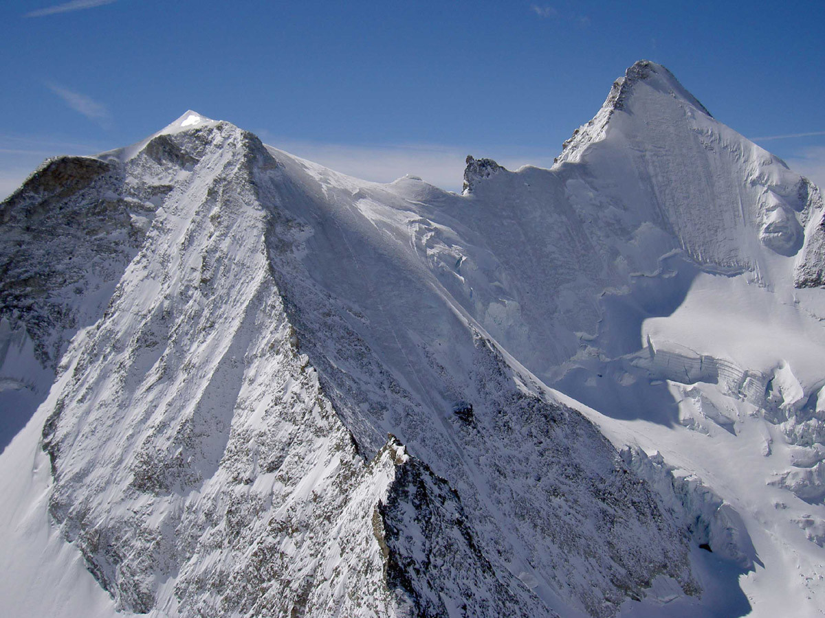 Ober Gabelhorn depuis le sommet du Trifthorn