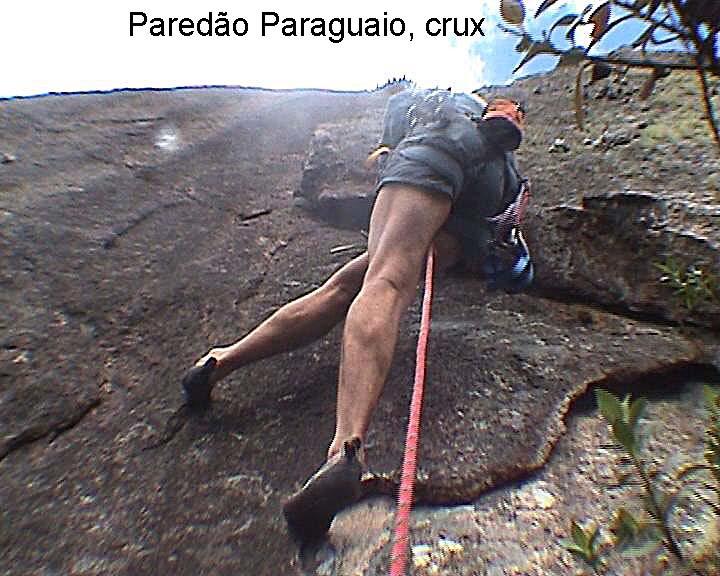 Voie du Paredão Paraguaio, Rio