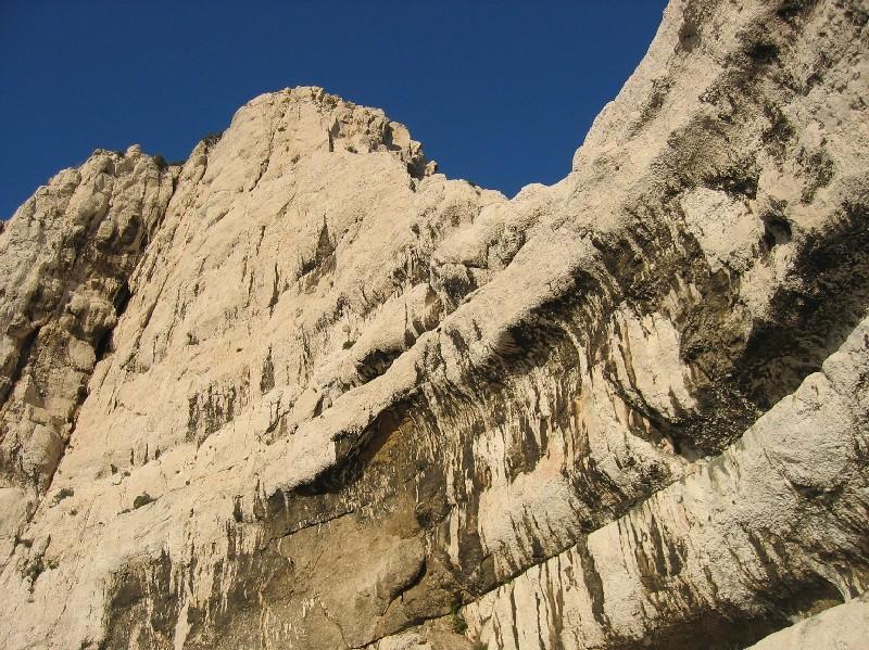 Face Ouest du Rocher des Goudes
