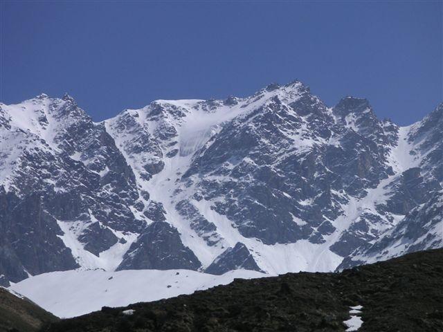 Petit Combin par le glacier Pendant