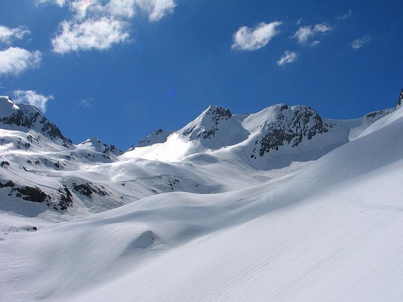 Monte Gleno e Vedretta del Trobio