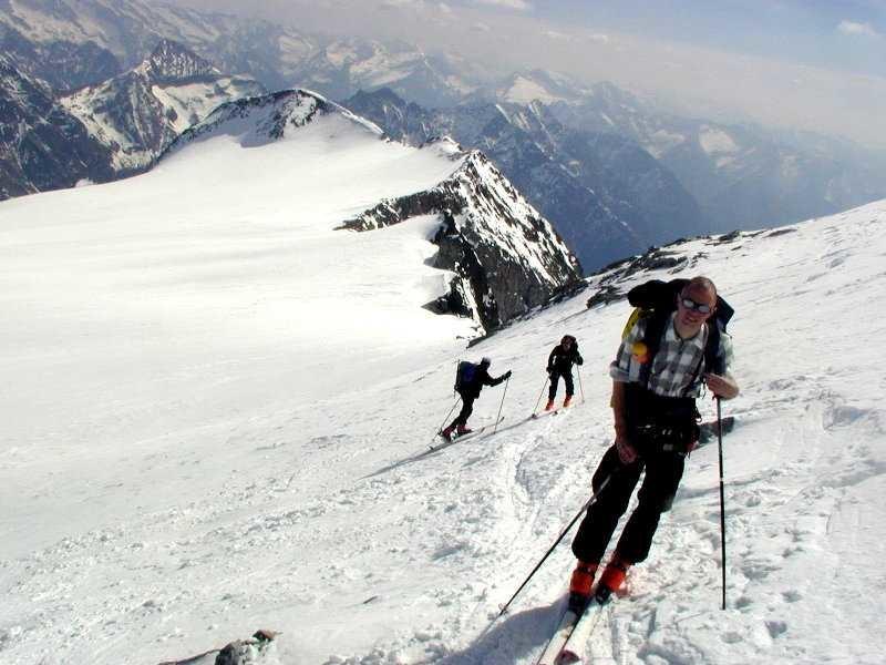 Dario poco prima del deposito degli sci