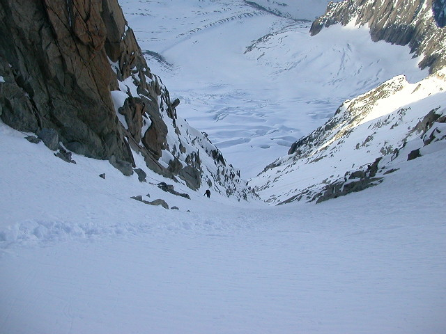 Couloir Whymper,partie finale