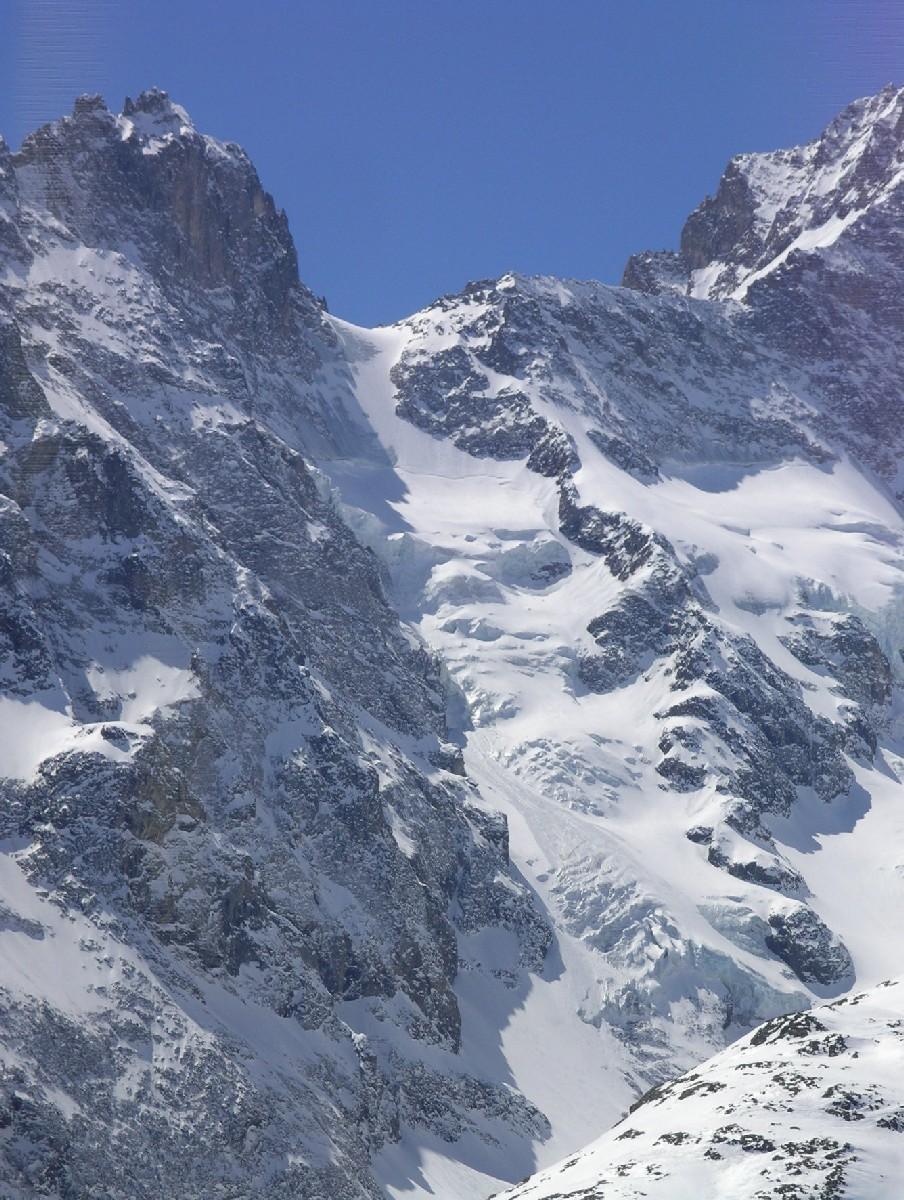 Col Claire : glacier d'Armande