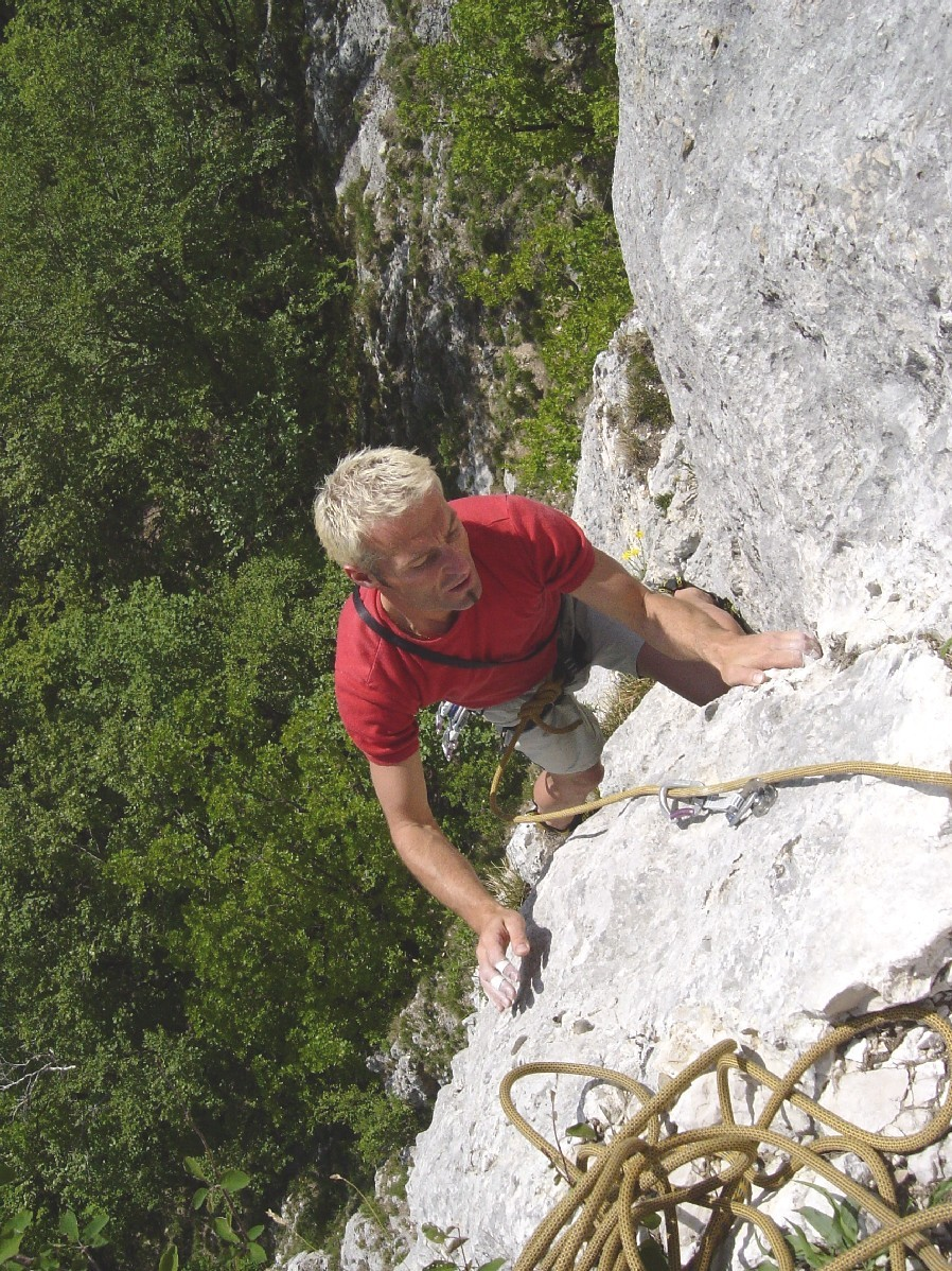 "R. Pirali dans ""Stankill"" à Plagne, Suisse."