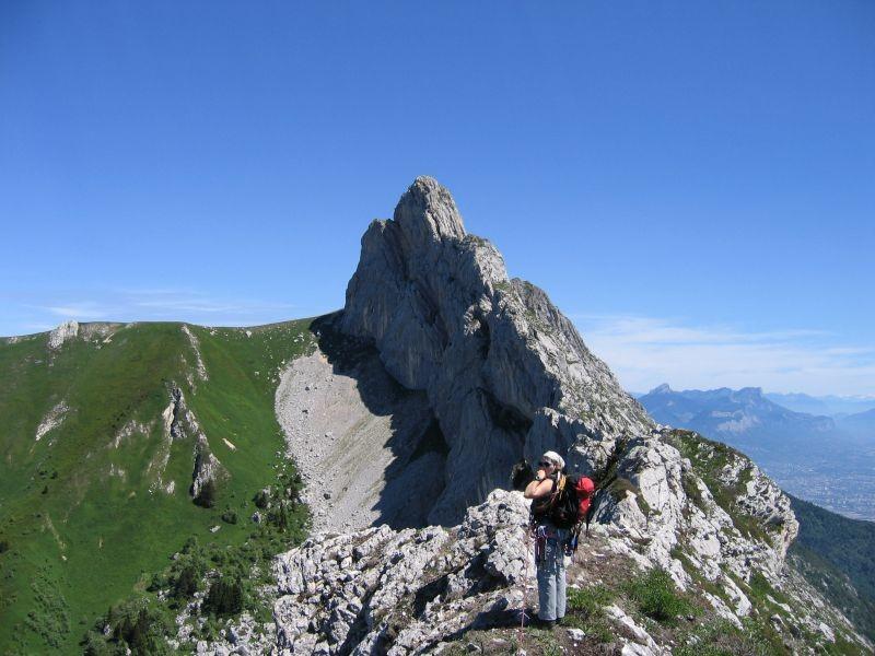 Roc Cornafion - Le sommet est encore loin !