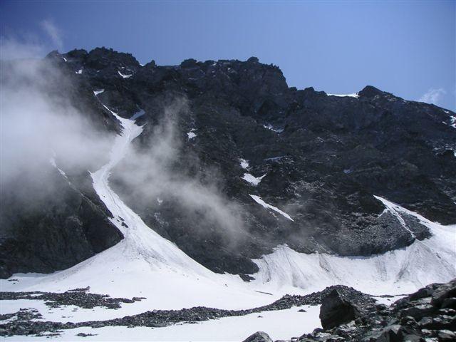 Couloir nord du Mt Velan