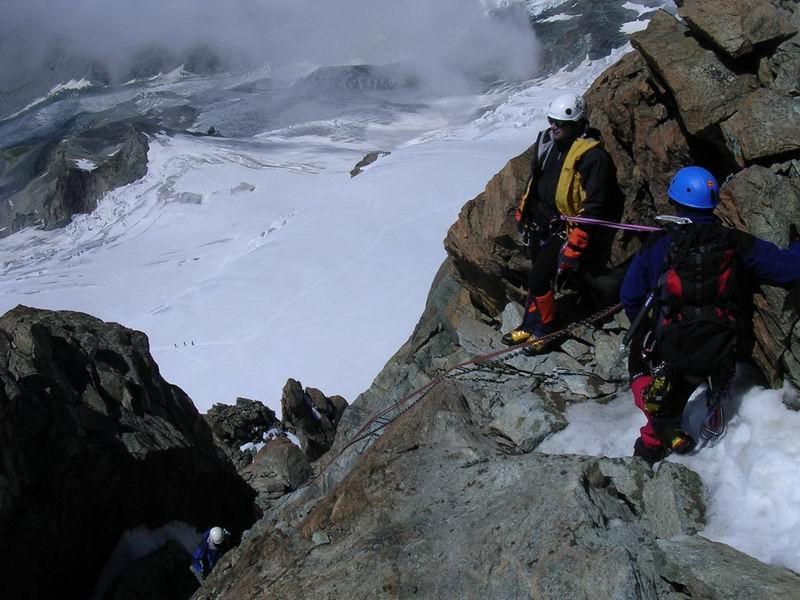Voie normale du Pollux (4092 m)