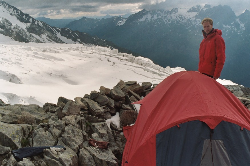 Bivouac Glacier du Tour - Refuge Albert 1er