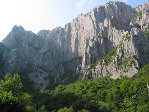 Vratza - partie centrale du massif