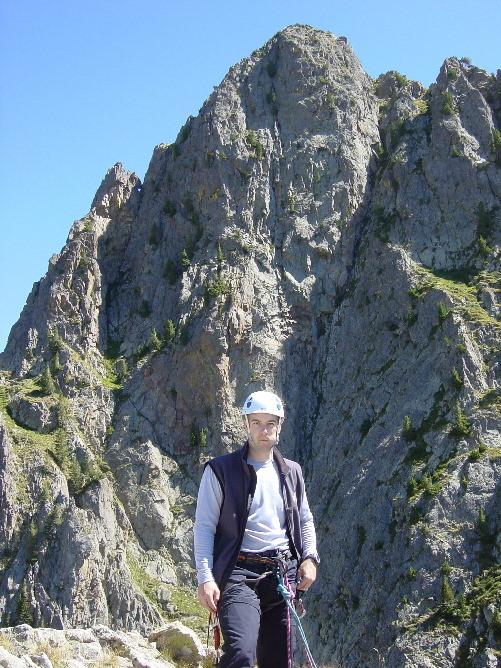 Grand Cayre de la Madone vu du Petit Cayre