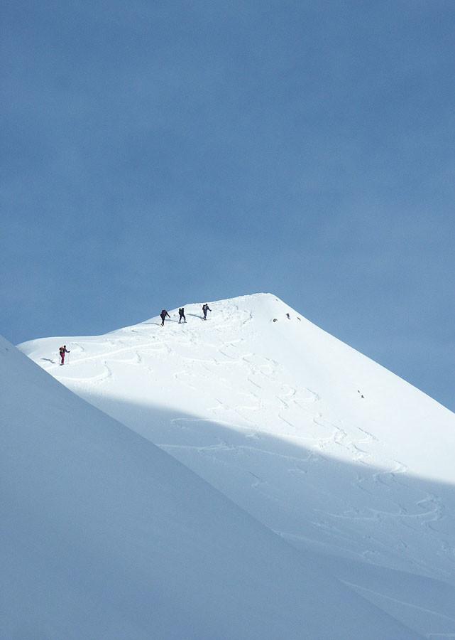 Il tratto finale al Poncione di Val Piana  2660 m.