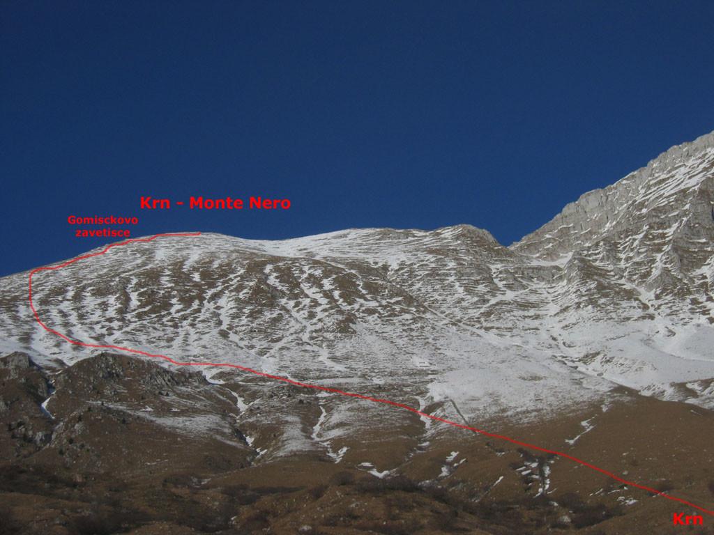 Krn o Monte Nero