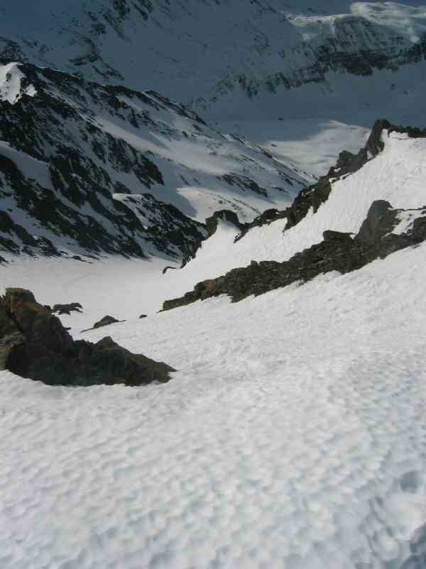 Pic badet, couloir SW