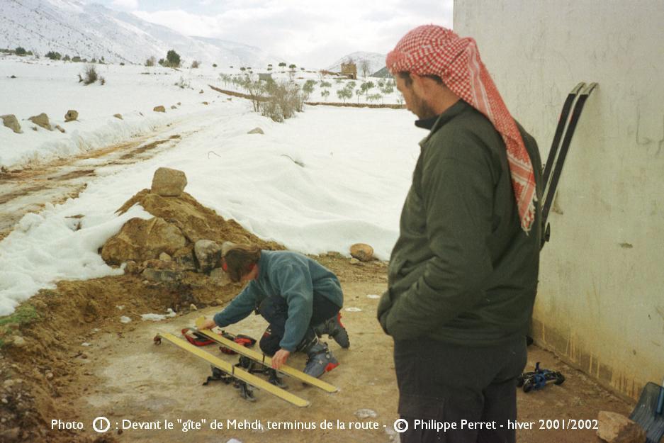 Photo 1, topo Jebel ech Cheikh