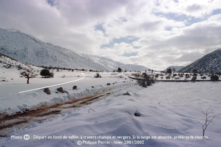 Photo 2, topo Jebel ech Cheikh
